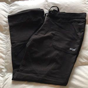 Women's Greys Anatomy Black Scrub Pants